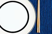 General Dinner And Lunch Set With Chop Stick