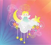 Dreams Angel At Sky