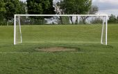 Wide Open Soccer Net