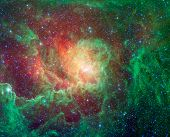 The cosmic cloud called Lagoon Nebula