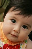 stock photo of baby face  - Cute baby