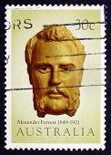Postage Stamp Australia 1983 Alexander Forrest, Explorer
