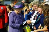 Queen Elizabeth Ii In Sussex Canada