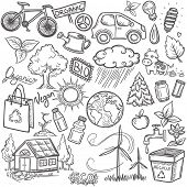 image of poo  - Doodles eco icon set - JPG