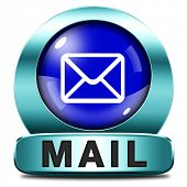you have mail icon email mailbox button post letter full inbox