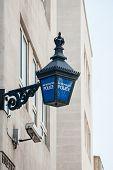 Metropolitan Police Lantern In London