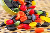 Mixed candies