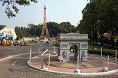 Mini Europe In  Mini Siam Park