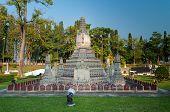 Temple Of The Dawn In Mini Siam Park