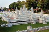 Angkor Wat In Mini Siam Park