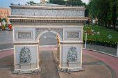 Arc De Triomphe In Mini Siam Park