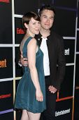 SAN DIEGO - JUL 26:  Valorie Curry, Sam Underwood at the Emtertainment Weekly Party - Comic-Con Inte