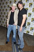 SAN DIEGO - JUL 26:  Frank Miller, Robert Rodriguez at the