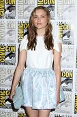 SAN DIEGO - JUL 25:  Sophie Cookson at the