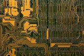 Computer Electronic Circuit Background