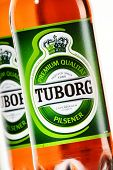 Bottles Of Tuborg Beer