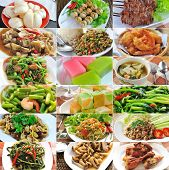 foto of thai cuisine  - Delicious thai cuisine  food for healthy eating - JPG