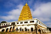 Bodh Gaya Pagoda With  Sky