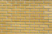 Texture Of The Yellow Brickwork