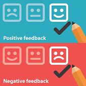 Positive And Negative Feedback
