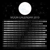 Moon calendar 2015