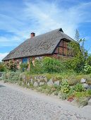 traditional House,Ruegen island,Germany