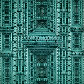 picture of neo-classic  - Ornament structure that is reminiscent of a futuristic neo - JPG
