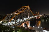 Story Bridge by Night. TILT SHIFT