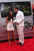 LOS ANGELES - AUG 3:  Megan Fox, Will Arnett at the Teenage Mutant Ninja Turtles Premiere at the Vil
