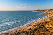 Atlantic Ocean Coastal Landscape. Morocco,  Gibraltar Strait