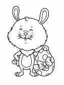 Boy_easter_bunny_outline.eps