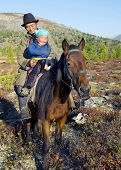 Nomadic Tsaatan or Dukha (Reindeer people) of northern Mongolia. The Tsaatan's survival is threatened by environmental damage to the forest where they live and hunt. Khovsgol aimag, Mongolia.