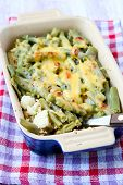 Cauliflower And Green Beans Bake