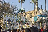Traditional Spanish Cavalcade Of Magi