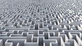 image of maze  - Maze  wall architecture find the way out - JPG