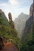 Mountain Trail, Huang Shan Mountains, China