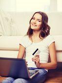 image of electronic banking  - online shopping - JPG