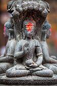 Buddha Statue In Nepal