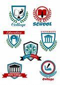 Heraldic Emblems For School, College, University