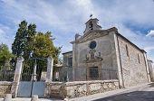Chapelle Des Penitents Gris At Aigues Mortes, France