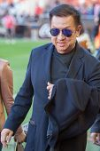 VALENCIA, SPAIN - JANUARY 4: Peter Lim owner of Valencia c.f. during Spanish League match between Valencia CF and Real Madrid at Mestalla Stadium on January 4, 2015 in Valencia, Spain