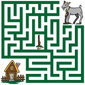 Maze Of A Lost Goat