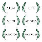 Film Stars Laurels 1