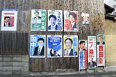 Posters Of Candidates For The Councilors