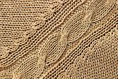 picture of lurex  - Knitwear beige texture - JPG