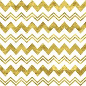 foto of chevron  - White and gold pattern - JPG