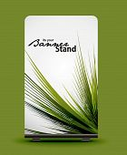 a rolup display with stand banner template design