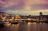Nightfall On Rethymnon
