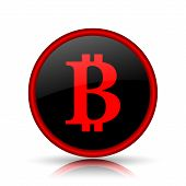 stock photo of bitcoin  - Bitcoin icon - JPG