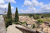 picture of roof tile  - Landscape of southern France - JPG